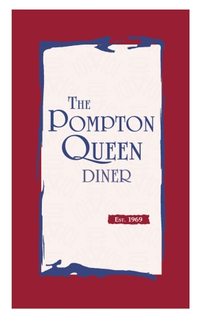 Pompton Queen Menu - Cover