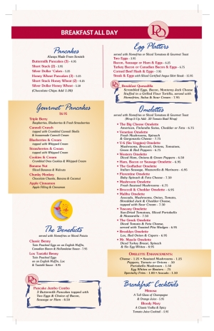 Pompton Queen Menu - Breakfast - 2