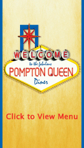 Pompton Queen Diner Menu Cover